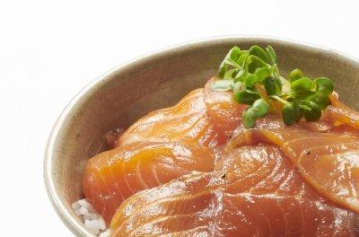 画像1: 【家食べ用】 サーモン漬け丼満足3袋セット